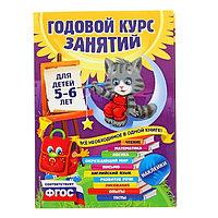 Годовой курс занятий для детей 5-6 лет, с наклейками. Зарапин В. Г., Лазарь Е., Мельниченко О.