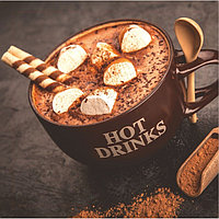 Картина на подрамнике 'Чашечка какао' 30*30 см