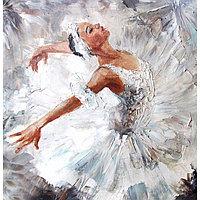 Картина на подрамнике 'Балерина' 30*30 см