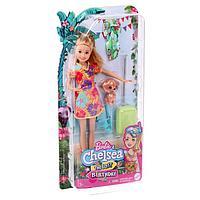Игровой набор 'Кукла Стейси рыжеволосая в платье с питомцем и аксессуарами'