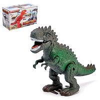 Динозавр 'Рекс' работает от батареек, световые и звуковые эффекты, МИКС