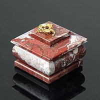 Шкатулка 'Тюльпан', малая, 6,5х6,5х6 см, креноид