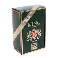 Подарочный набор для мужчин туалетная вода King, 100 мл пена для бритья, 200 мл