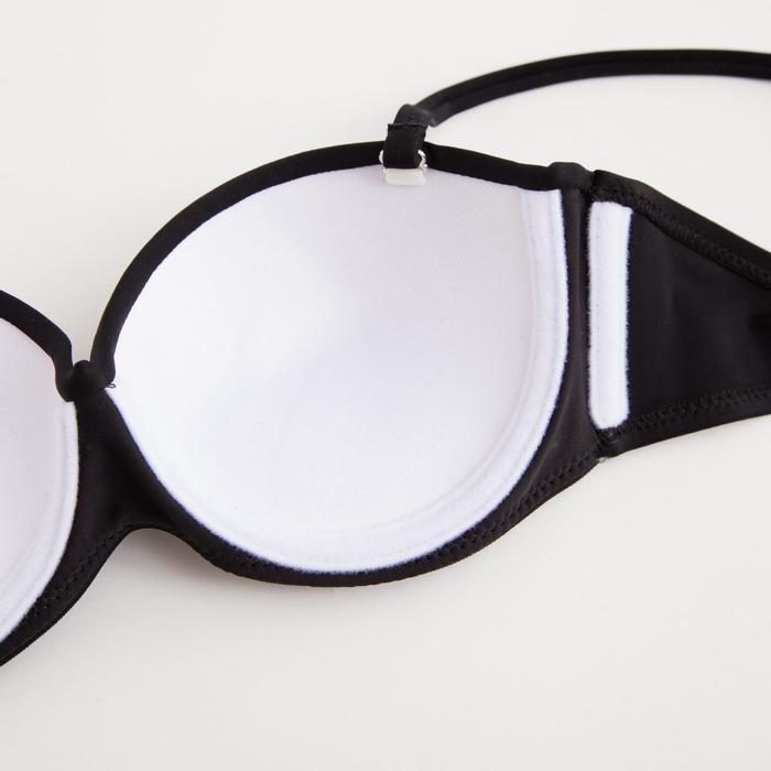 Купальник женский раздельный, цвет чёрный, р-р 44 (38) - фото 4