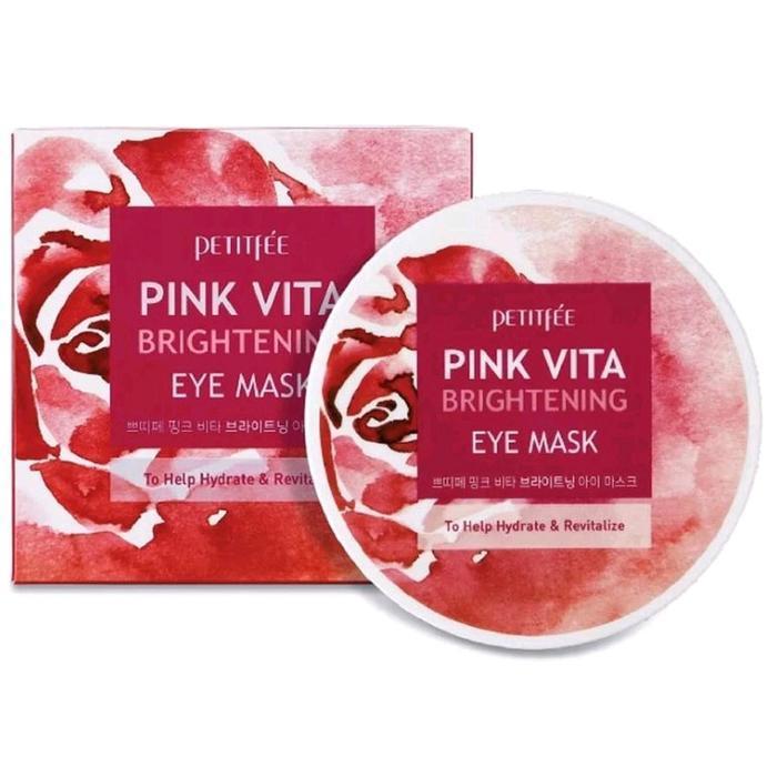 Патчи для области вокруг глаз Petitfee, для сияния кожи, с комплексом витаминов, 70 г - фото 4