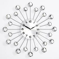 Часы настенные, серия Ажур, 'Лучики', плавный ход, 35 х 35 см, d13 см