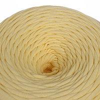 Трикотажная лента 'Лентино' лицевая 100м/320±15гр, 7-8 мм (св. жёлтый)