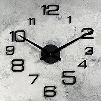 Часы-наклейка DIY 'Мита', чёрные, 120 см (+механизм)