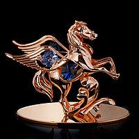 Сувенир с кристаллами Swarovski 'Пегас' 10х9,2 см
