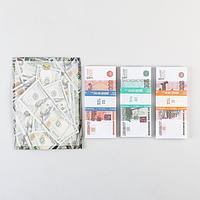 Набор сувенирных денег '5000, 1000, 500 рублей'