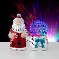 Световая фигура 'Дед Мороз и шар', LED-3-220V