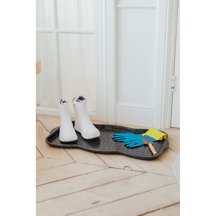 Лоток для обуви, 75x38,5x3 см, цвет чёрный - фото 3