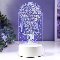 Светильник 'Воздушный шар' LED RGB от сети 9,5х9,5х21 см