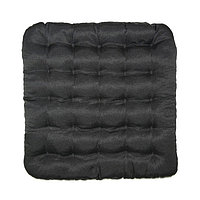 Подушка на стул Уют черный 40х40см лузга гречихи, грета хл35, пэ65