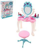 Игровой набор модницы 'У зеркала' с аксессуарами и раскраской, свет, звук