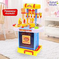 Игровой модуль кухня 'Голубая мечта' с аксессуарами, складывается в чемодан, световые и звуковые эффекты