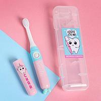 Электрическая зубная щётка 'Доброе утро', 19,2 х 5,5 см