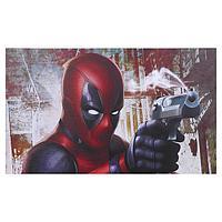 Постер 'Дэдпул с пистолетом' 100х60 см
