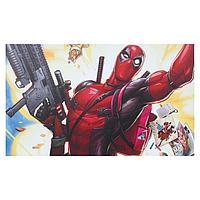 Постер 'Дэдпул с рюкзачком' 100х60 см