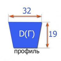 Клиновые ремни RUBENA классического профиля D(Г)