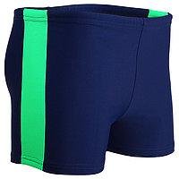 Плавки-шорты взрослые для плавания, размер 52, цвет синий