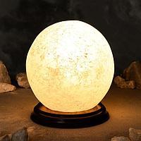 Соляная лампа 'Шар большой', цельный кристалл, 19 см