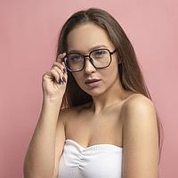 Очки для компьютера женские, uv 400, 14.3х3х5.2 см, линза 5.4х5.8 см