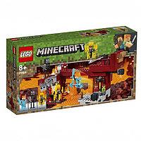 Конструктор Lego Minecraft 'Мост ифрита', 372 детали