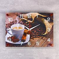 Часы настенные, серия Кухня, 'Кофейная фантазия', 25х35 см, микс