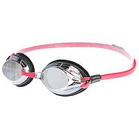 Очки для плавания SPURT Mirror, цвет красный/чёрный