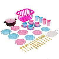 Детский кухонный набор 'Пикник', 35 предметов, цвета МИКС