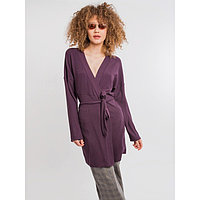 Кардиган женский, цвет фиолетовый, размер 46 (M)