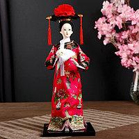 Кукла коллекционная 'Китаянка в национальном платье с платочком' 32х12,5х12,5 см