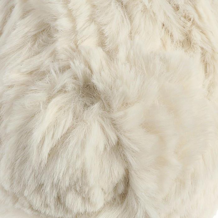 Пряжа фантазийная 100 микрофибра 'Softy plush' 100 гр 65 м белоснежный (комплект из 10 шт.) - фото 1