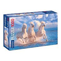 Пазл 1000 элементов 'Тройка лошадей'