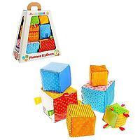 Набор мягких кубиков 'Умные кубики'
