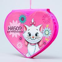 Набор для творчества Коты аристократы в форме сердца, 41 предмет