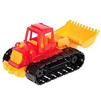 Трактор 'Байкал', с грейдером