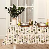 Скатерть 'Этель' Kitchenware 149х110см, 100 хл, саржа 190 г/м2