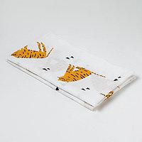 Пеленка 'Крошка Я' Тигры 75*120 см