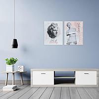 Модульная картина 'Венера', 80 х 60 см