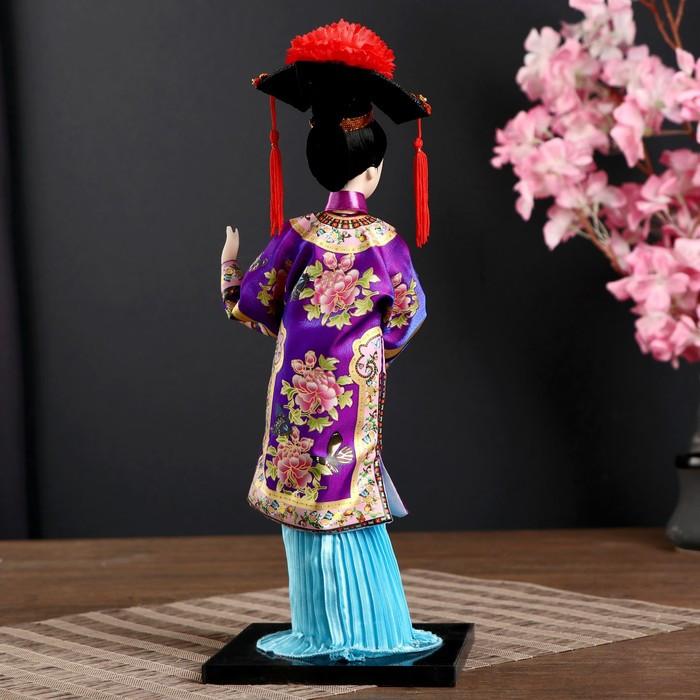 Кукла коллекционная 'Китаянка в национ. платье с письменами' МИКС 32х12,5х12,5 см - фото 3