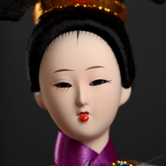 Кукла коллекционная 'Китаянка в национ. платье с письменами' МИКС 32х12,5х12,5 см - фото 5