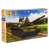 Сборная модель 'Советский танк Т-62', масштаб 172