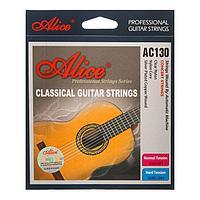 Струны для классической гитары Alice AC130, нейлон, посеребренная медь