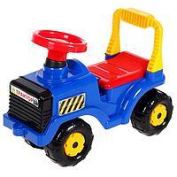 Машинка детская 'Трактор', цвет синий