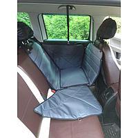 Гамак для перевозки животных, на заднее сиденье 145х165 см, 3 слоя с ПВХ 600