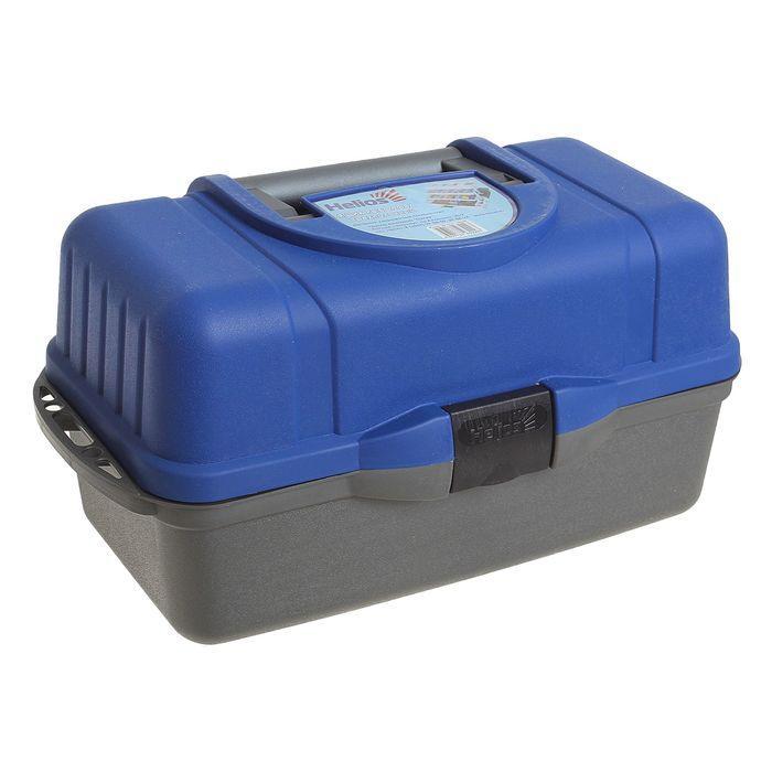 Ящик Helios трехполочный, цвет синий - фото 1