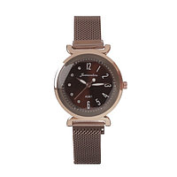 Часы наручные 'Имбау', кварцевые, l24 см, d3.5 см, ремешок на магните