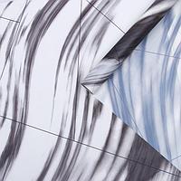Пленка для цветов 'Облака' серый, 0,58 х 10 м